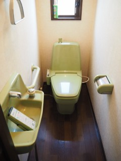 1Fトイレ施工前
